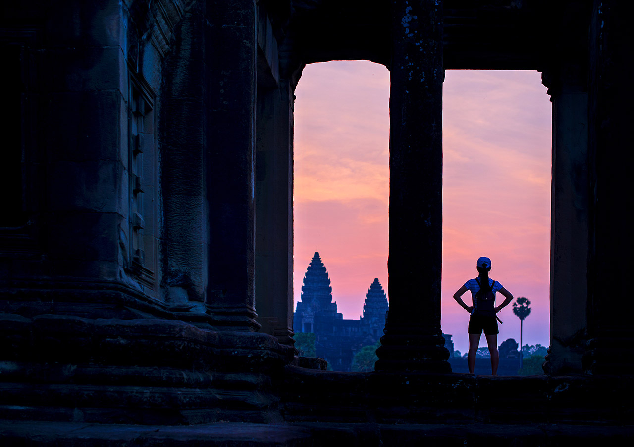 Sunrise at Angkor Wat, Cambodia ©2017